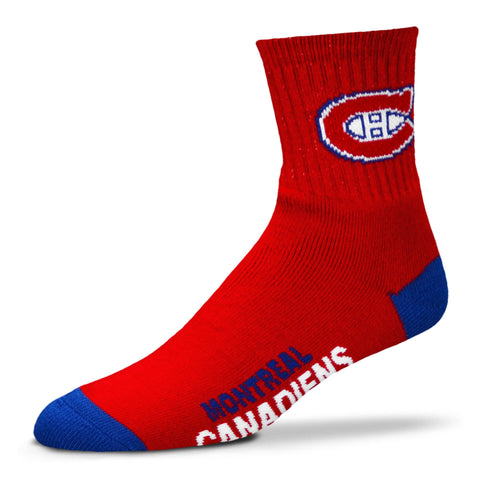 Montreal Canadiens Team Color Crew Socks