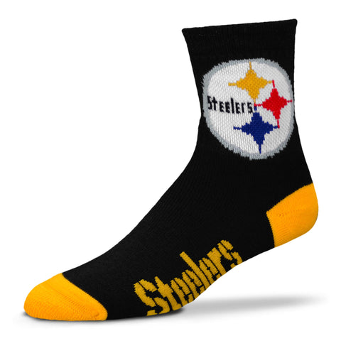 Pittsburgh Steelers Team Color Crew Socks