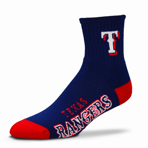 Texas Rangers Team Color Crew Socks