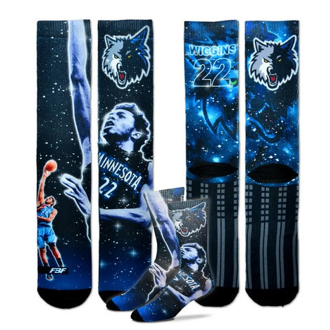 Minnesota Timberwolves Constellation Socks