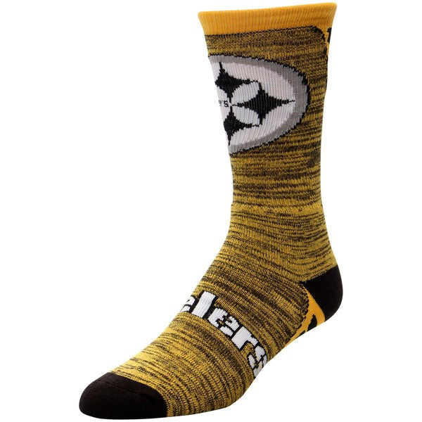 Pittsburgh Steelers Jolt Socks LG