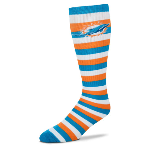 Miami Dolphins Pro Stripe Knee High Socks