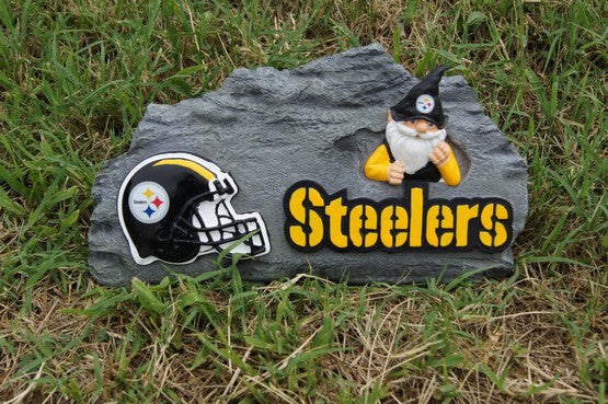 Pittsburgh Steelers Gnome Garden Stone
