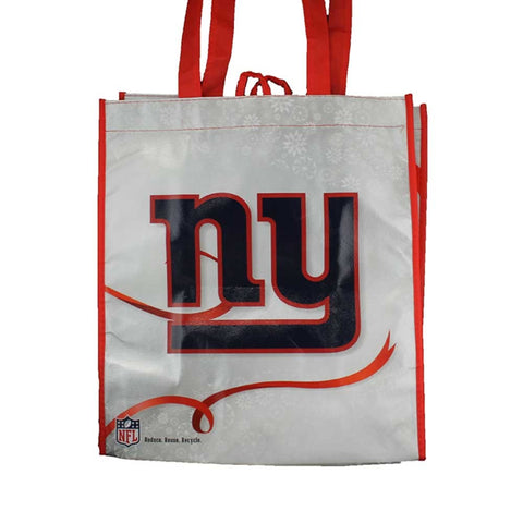 New York Giants Holiday Reusable Bag
