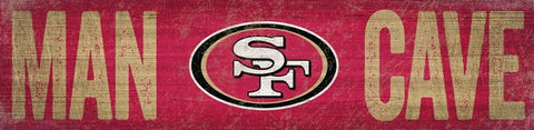 San Francisco 49ers Man Cave Wooden Sign