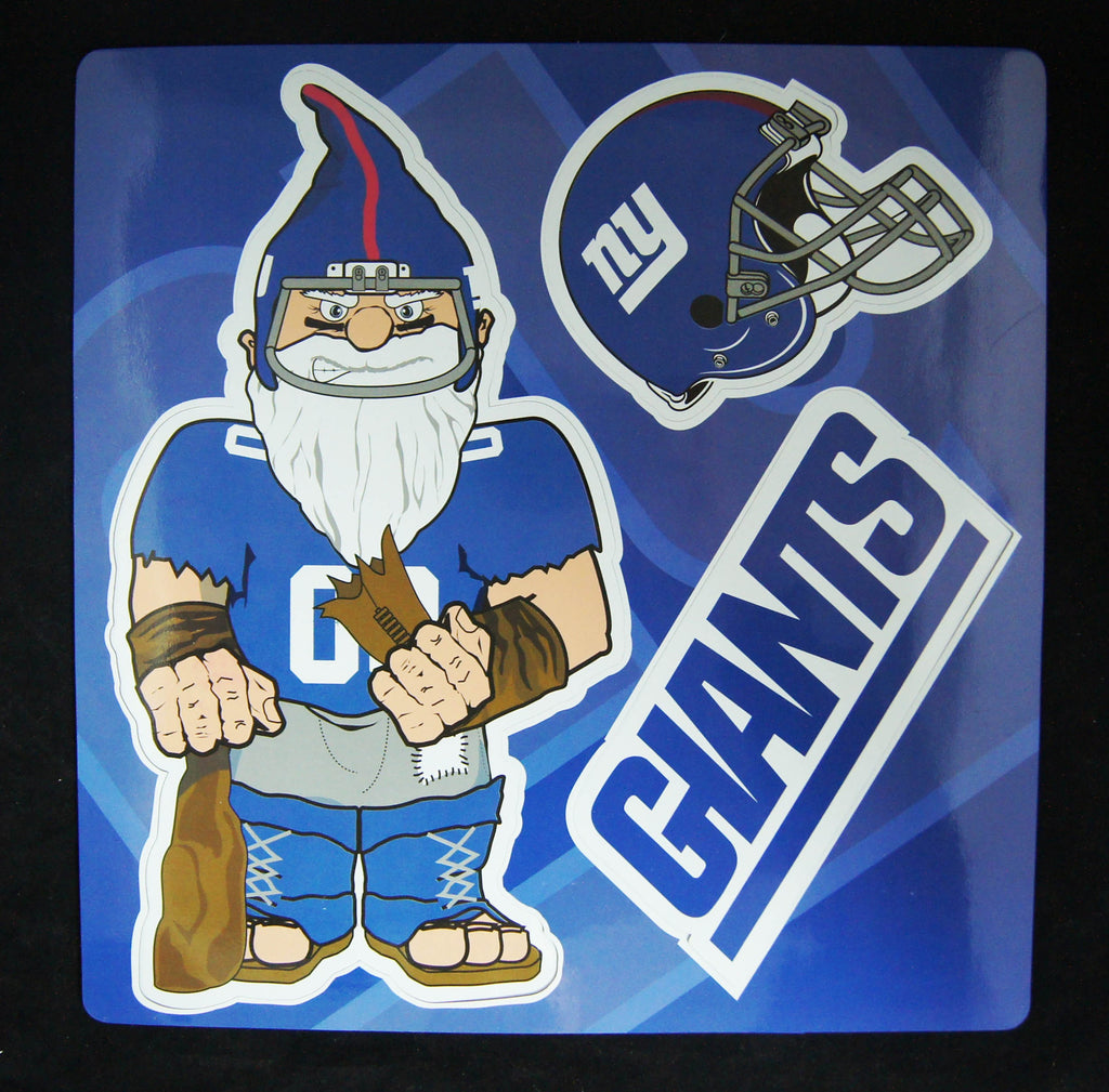 New York Giants Gnome Punch Out Multi Magnet Sheet