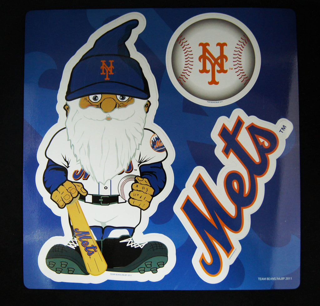 New York Mets Gnome Punch Out Multi Magnet Sheet