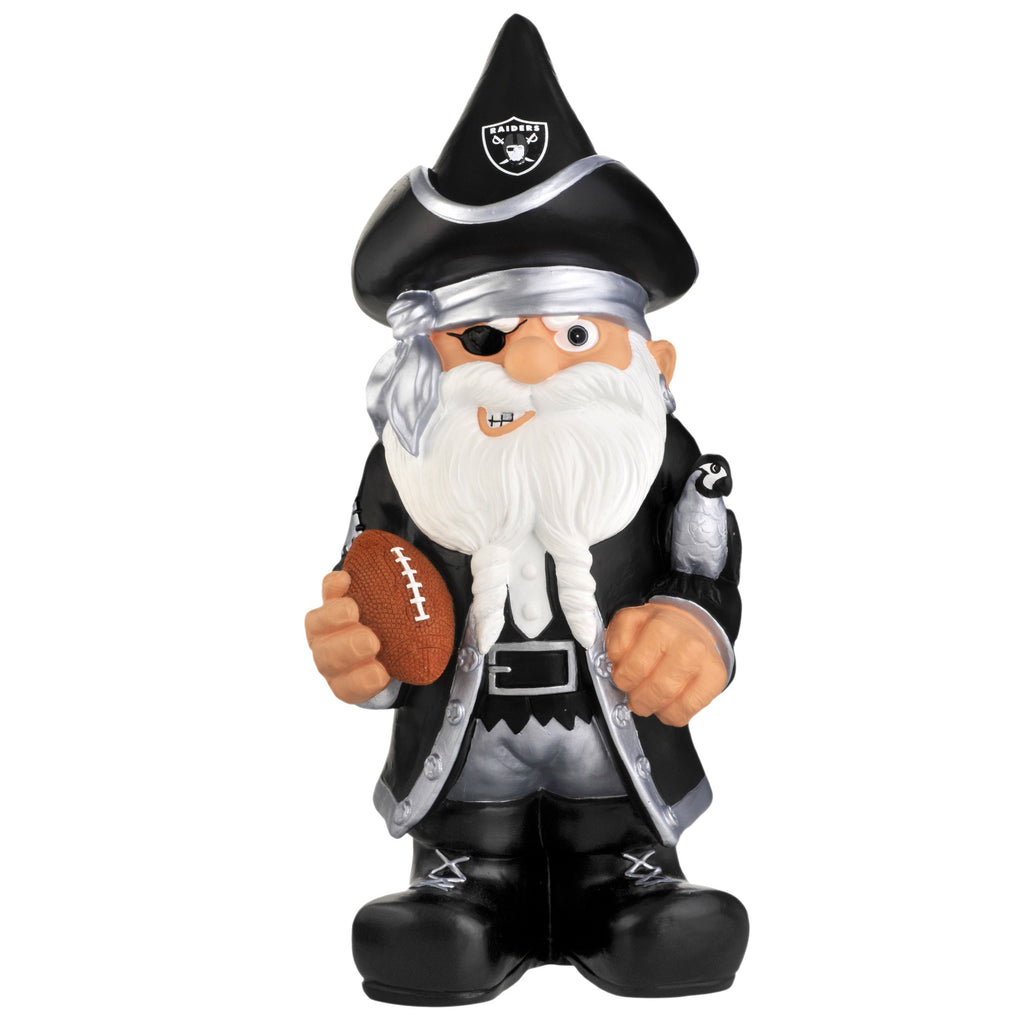 Oakland Raiders Thematic Gnome