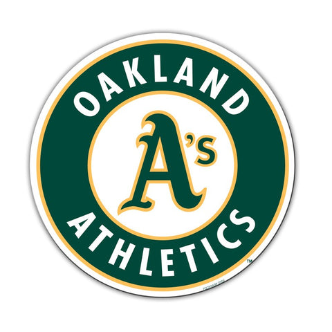 "Oakland Athletics 12"" Magnet Logo"