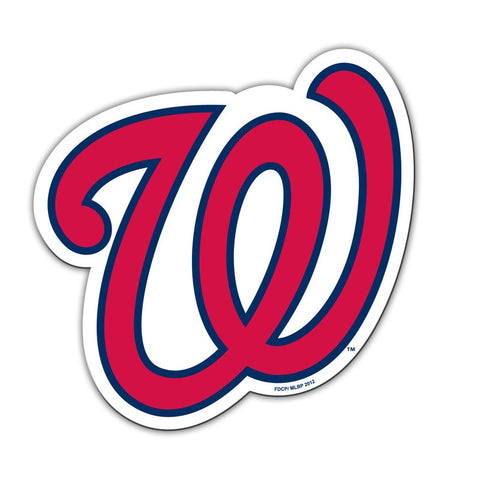 "Washington Nationals 12"" Magnet Logo"