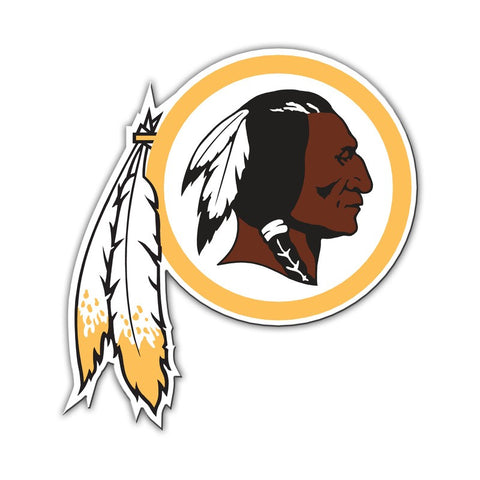 "Washington Redskins 12"" Magnet Logo"