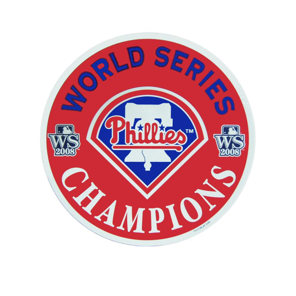 "Philadelphia Phillies World Series 12"" Magnet Logo"