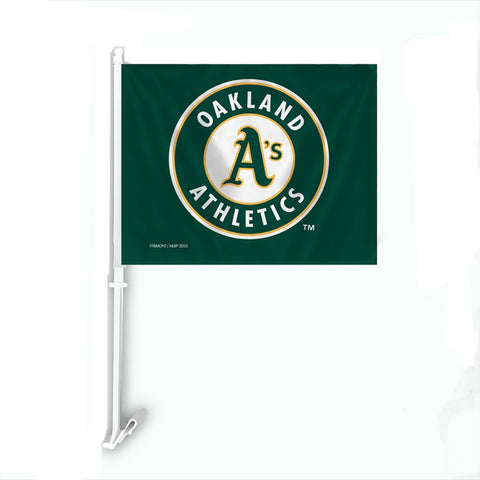 Oakland Athletics Car Flag