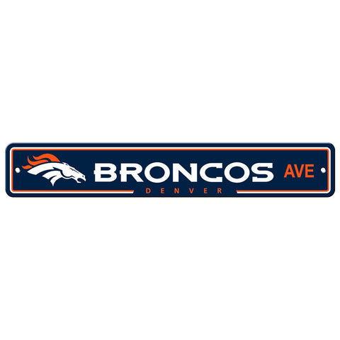 Denver Broncos Drive Sign