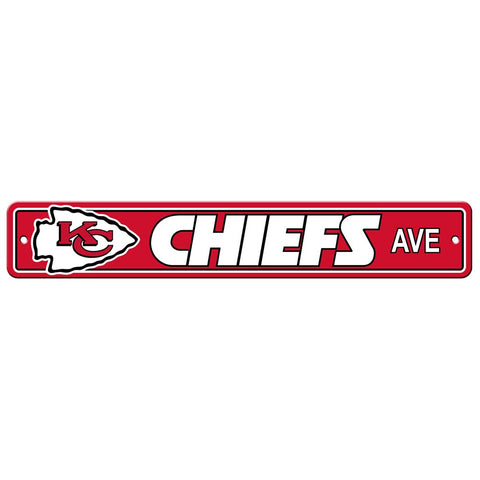 Kansas City Chiefs Drive Sign