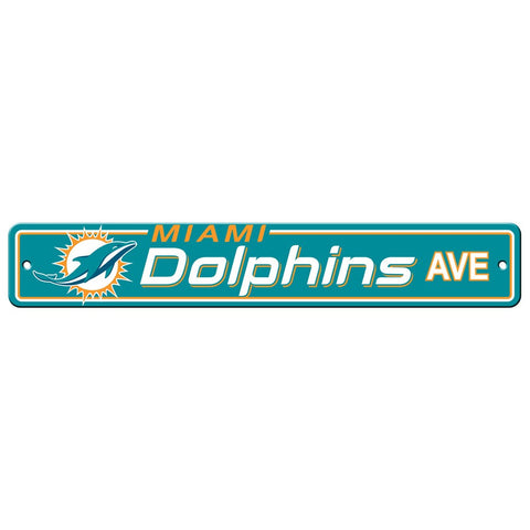 Miami Dolphins Drive Sign
