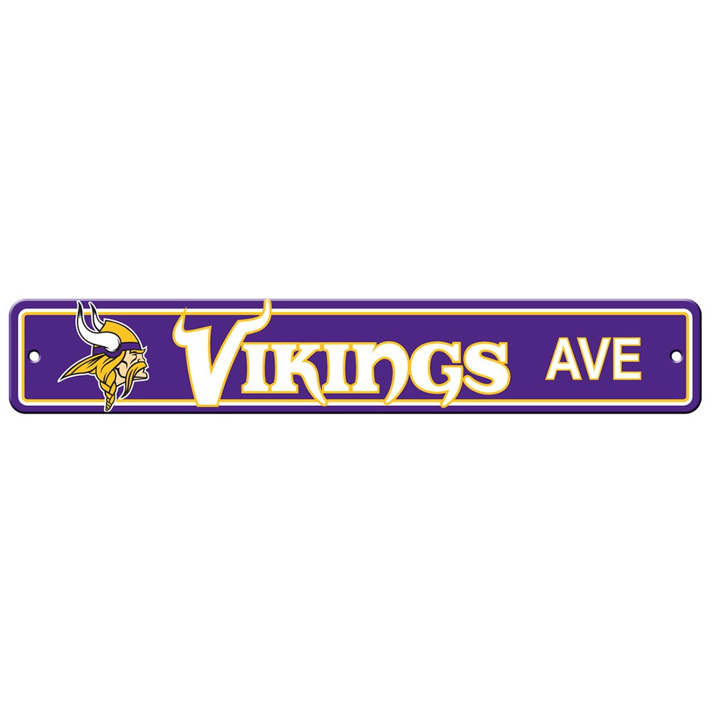 Minnesota Vikings Drive Sign