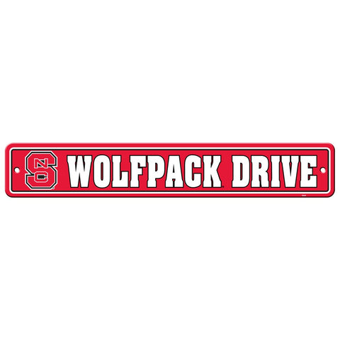 NC State Wolfpack Drive Sign