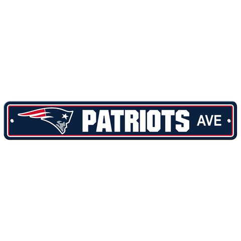 New England Patriots Drive Sign