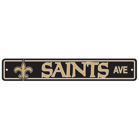 New Orleans Saints Drive Sign