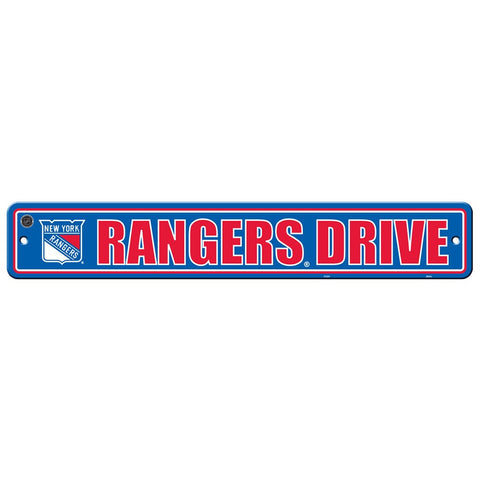 New York Rangers Drive Sign