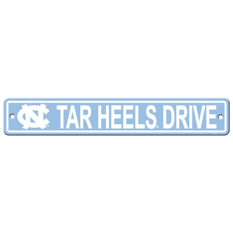 North Carolina Tar Heels Drive Sign