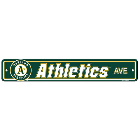 Oakland Athletics Drive Sign