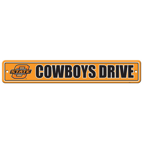 Oklahoma State Cowboys Drive Sign