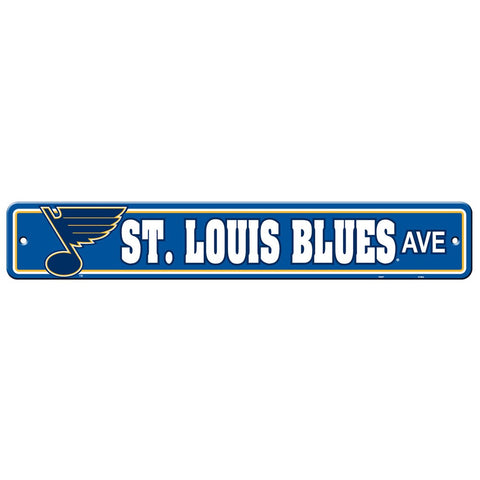 St. Louis Blues Drive Sign