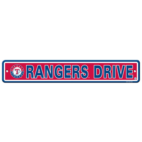 Texas Rangers Drive Sign