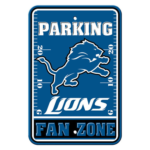 Detroit Lions Fan Zone Sign