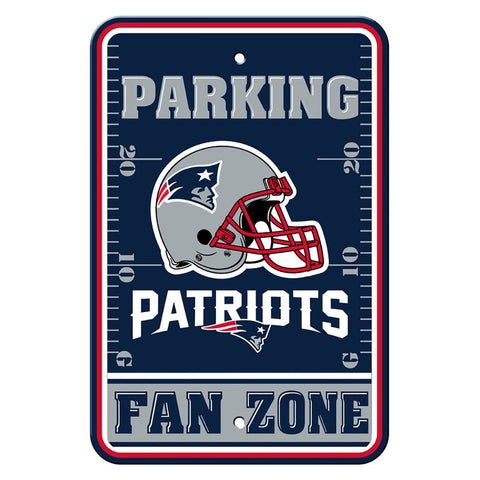 New England Patriots Fan Zone Sign
