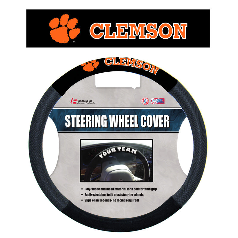 Clemson Tigers Mesh Steering Wheel Cover