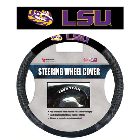 LSU Tigers Mesh Steering Wheel Cover