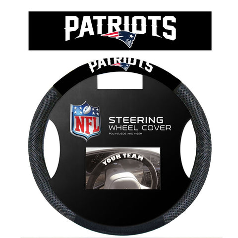 New England Patriots Mesh Steering Wheel Cover