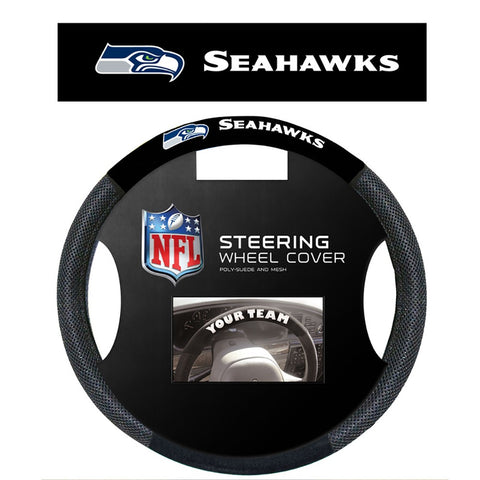 Seattle Seahawks Mesh Steering Wheel Cover