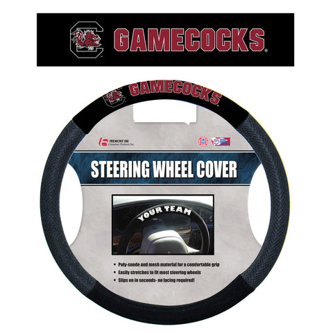 South Carolina Gamecocks Mesh Steering Wheel Cover