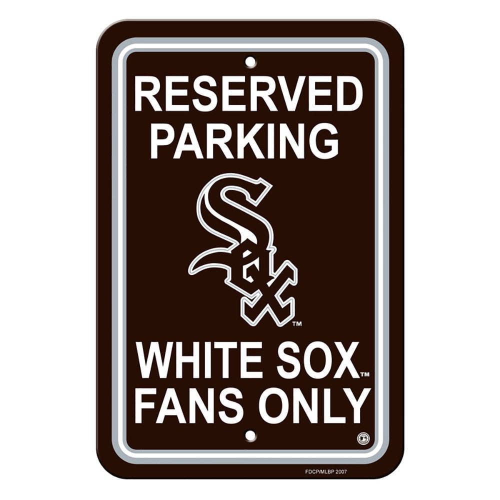 Chicago White Sox Reserved Parking Sign