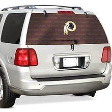 Washington Redskins Rear Window Film