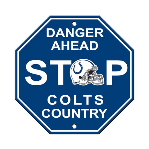 Indianapolis Colts Stop Sign