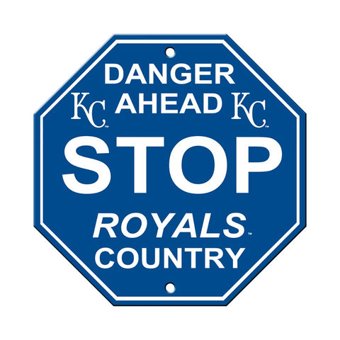 Kansas City Royals Stop Sign