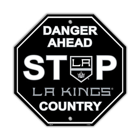 Los Angeles Kings Stop Sign