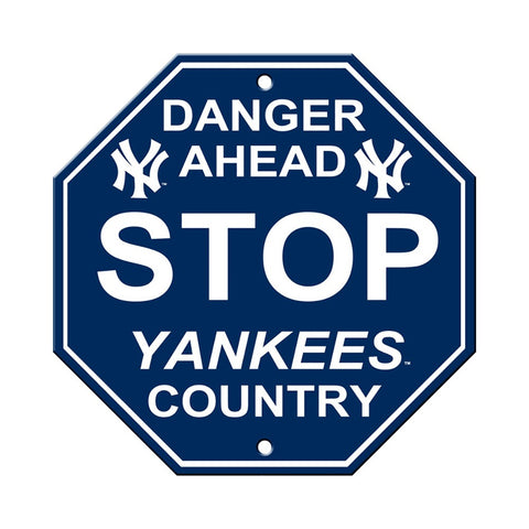 New York Yankees Stop Sign