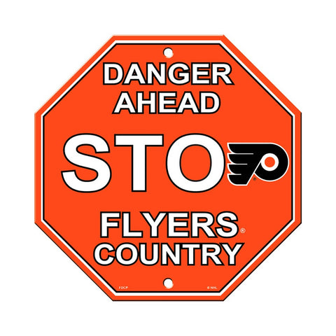 Philadelphia Flyers Stop Sign