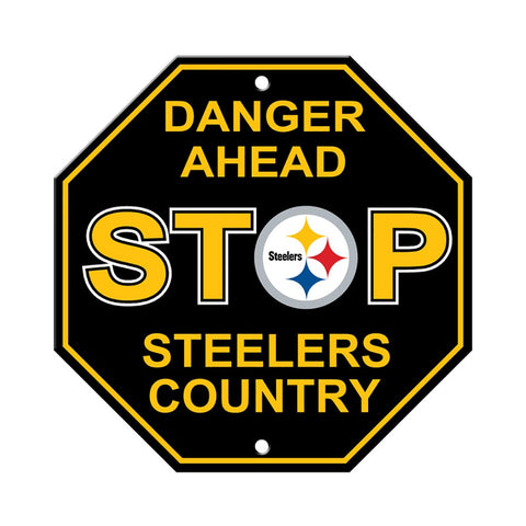 Pittsburgh Steelers Stop Sign
