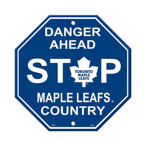 Toronto Maple Leafs Stop Sign