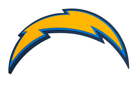 Los Angeles Chargers 3D Foam Logo