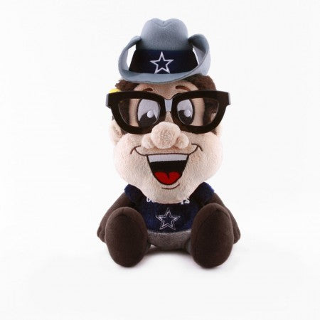 Dallas Cowboys Study Buddies Team Nerd Plush