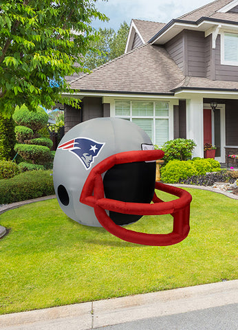 New England Patriots Team Inflatable Lawn Helmet