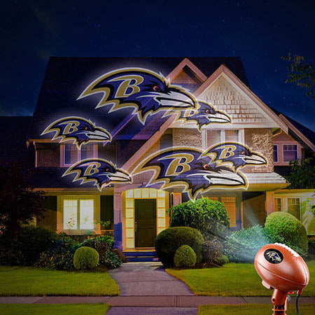Baltimore Ravens Team Pride Projection Light